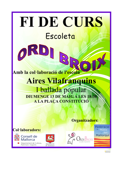 CARTEL ORDI BROIX