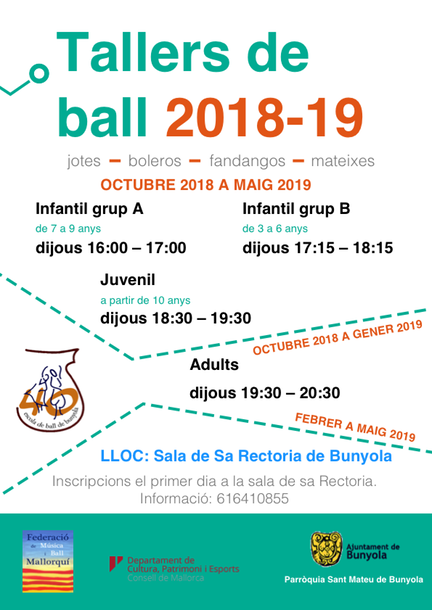 Tallers ball 2018-19